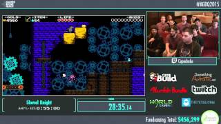 Awesome Games Done Quick 2015 - Part 100 - Shovel Knight by Capndrake