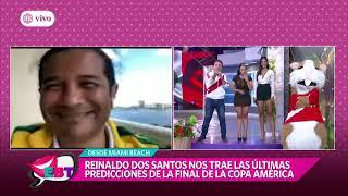 Perú vs Brasil: Reinaldo Dos Santos y su polémica predicción de la gran final