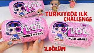 Türkiyed LOL SURPRİSE UNDER WRAPS CHALLENGE! Jelly Eye Spy Kapsül 4.Seri lol sürpriz Bidünya Oyuncak