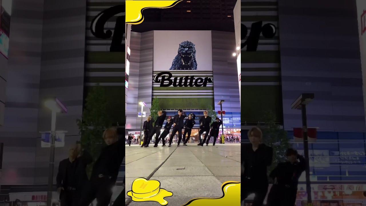 [KPOP IN PUBLIC JAPAN(SHINJUKU)]BTS-Butter Dance cover【ダンス踊ってみた♪】