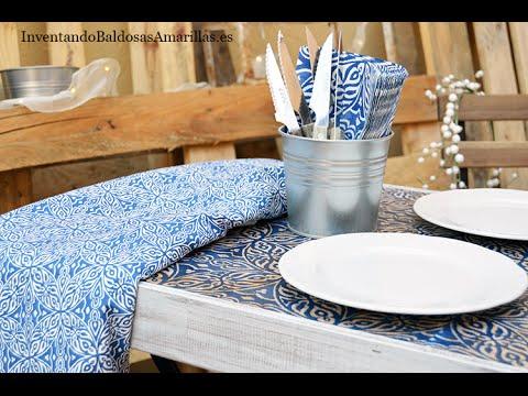Diy reciclar mesa jard n ikea youtube - Ikea jardin tumbonas roubaix ...