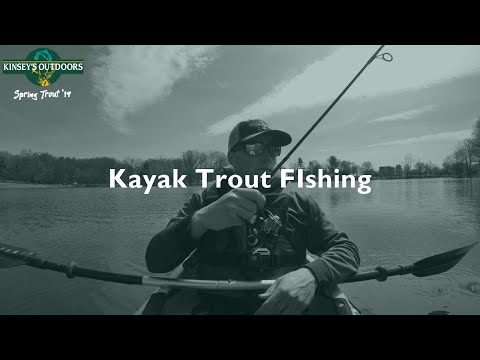 Kayak Trout Fishing Stoever's Dam | PA Spring Trout Series