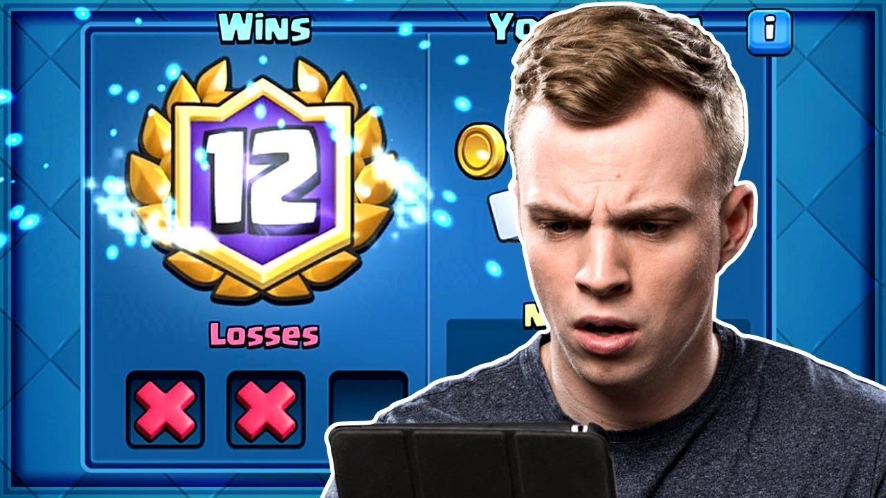 Clash Royale - WE GOT 12 WINS! Best 12 Win Deck
