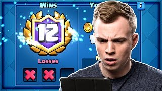 Clash Royale - WE GOT 12 WINS! Best 12 Win Deck