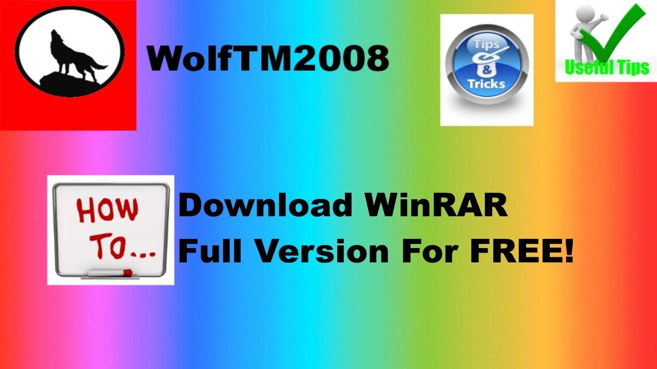 download winrar free english version