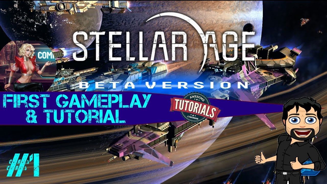 Stellar Age : MMO Strategy - First Gameplay and Tutorial (Beta