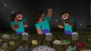 Minecraft Animacje - Oblężenie Zamku