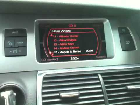 Audi Q7 2007 Ipod Bluetooth Install On Factory Radio Youtube