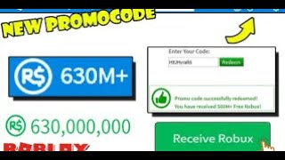 THIS ROBLOX PROMO CODE GIVES 999B+ ROBUX! (2019+)