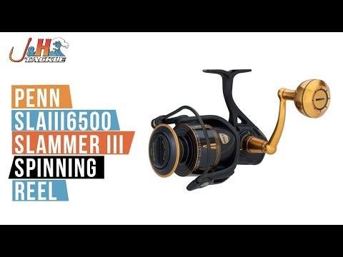 Penn Slammer III SLAIII6500 Spinning Reel | J&H Tackle