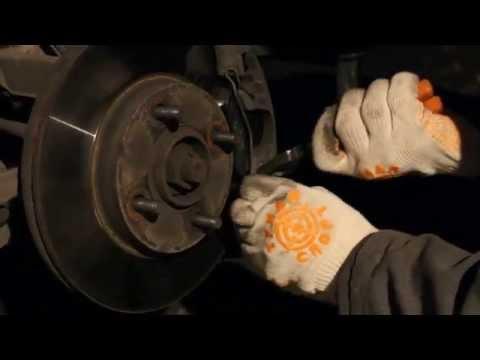 замена тормозных колодок на форд фиеста