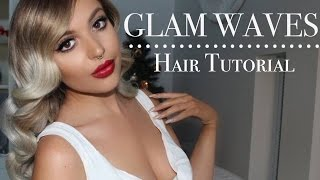 GLAM WAVES / Using the Muk Stick Curler By SSHAIRR