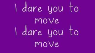Switch Foot - Dare You To Move (Full Song & Lyrics)