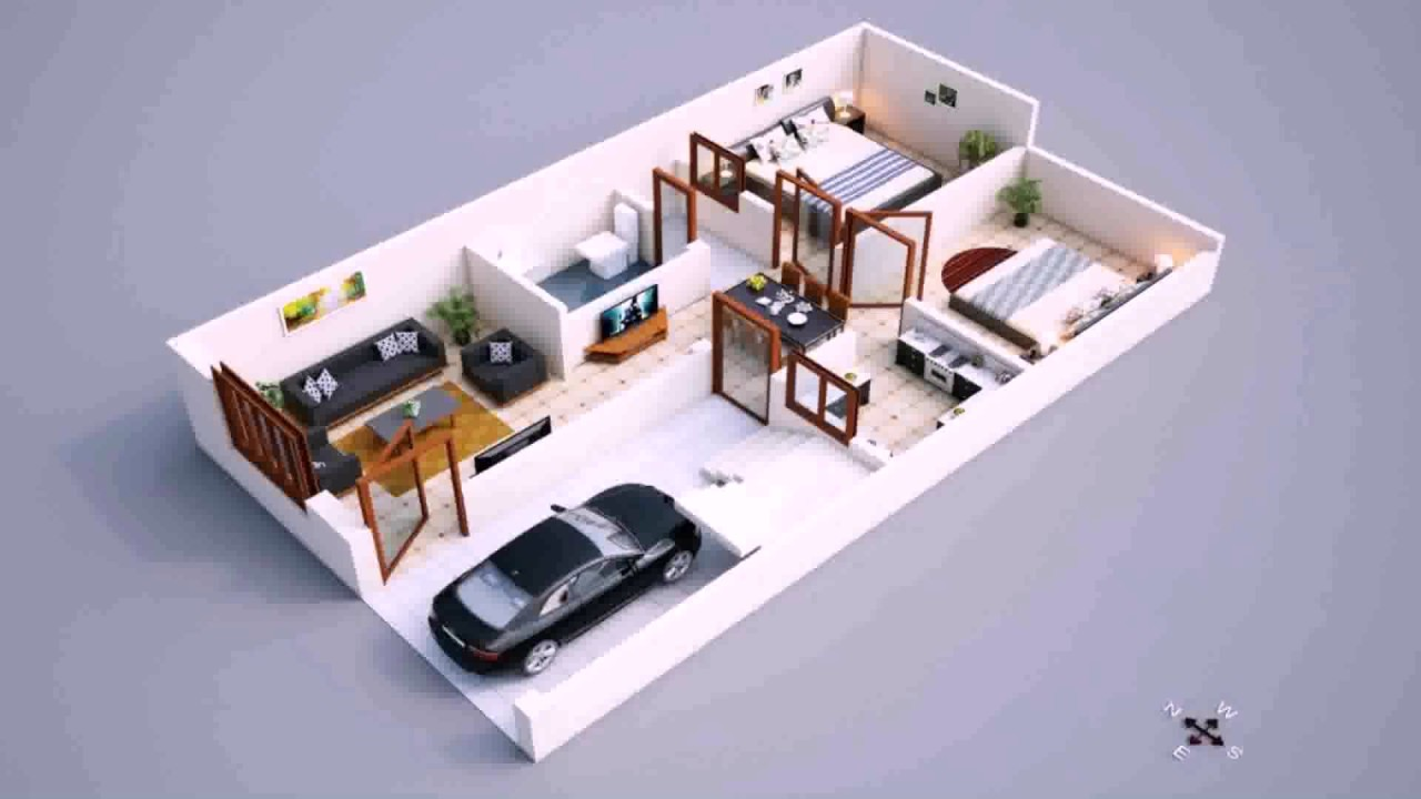 House Plan Design 600 Sq Feet - YouTube