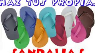 DIY- HAZ TUS SANDALIAS EN CASA/ Make sandals in your house.