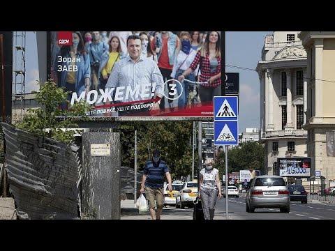 La Macedonia del Nord alle urne in piena pandemia
