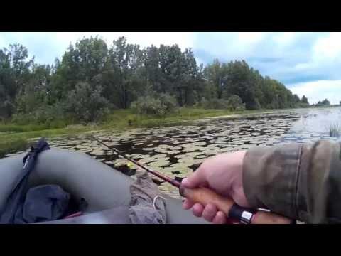 Ловля щуки на озере - рулят воблеры Страйк Про. Выпуск№8