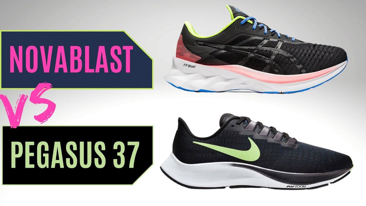 Nike Pegasus 37 Vs Asics Novablast