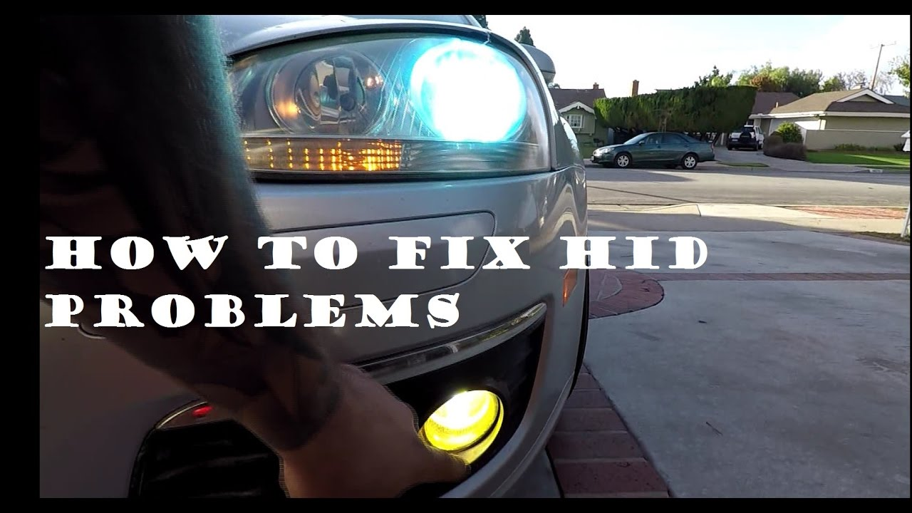 How To Diagnose Repair And Fix Your Hid Headlight Bulb