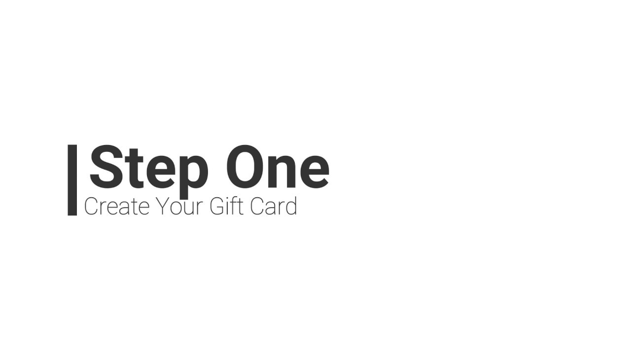 how to create shopify gift cards on every shopify plan youtube