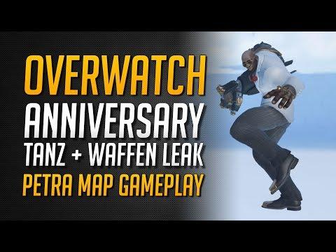ANNIVERSARY TÄNZE + WAFFEN LEAK   Petra Map Gameplay Leak ★ Overwatch Deutsch
