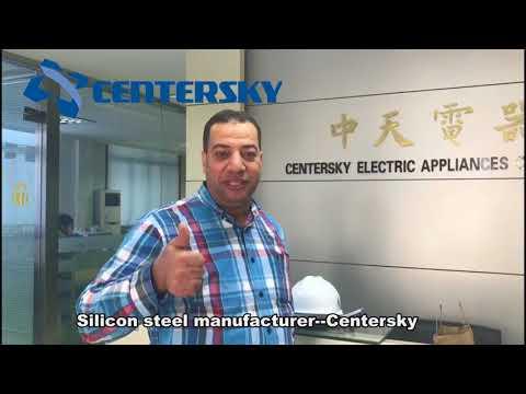 Egypt Customers Visit Centersky