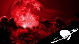 🚀La Super Lune Bleue de Sang