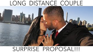 SURPRISE BIRTHDAY PROPOSAL (Long Distance Couple)