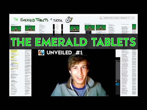 Emerald Tablets of Thoth UNVEILED:  TABLET #3 The KEY OF WISDOM