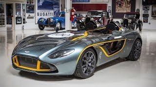 Aston Martin CC100 Speedster Concept 2013 Videos