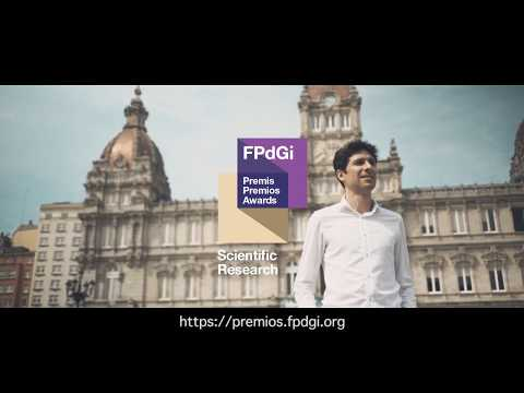 Héctor Gómez Díaz, Premio FPdGi Investigación Científica 2017