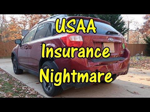 😬USAA Auto Insurance NIGHTMARE (Car Accident) NO HELP FOR MY SUBARU - USAA PROBLEMS ⭐