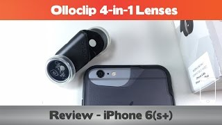 Olloclip 4-in-1 review and comparison – iPhone 6 Camera Cases
