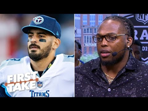 Marcus Mariota will do 'big things,' elevate his game after injuries - Derrick Henry | First Take