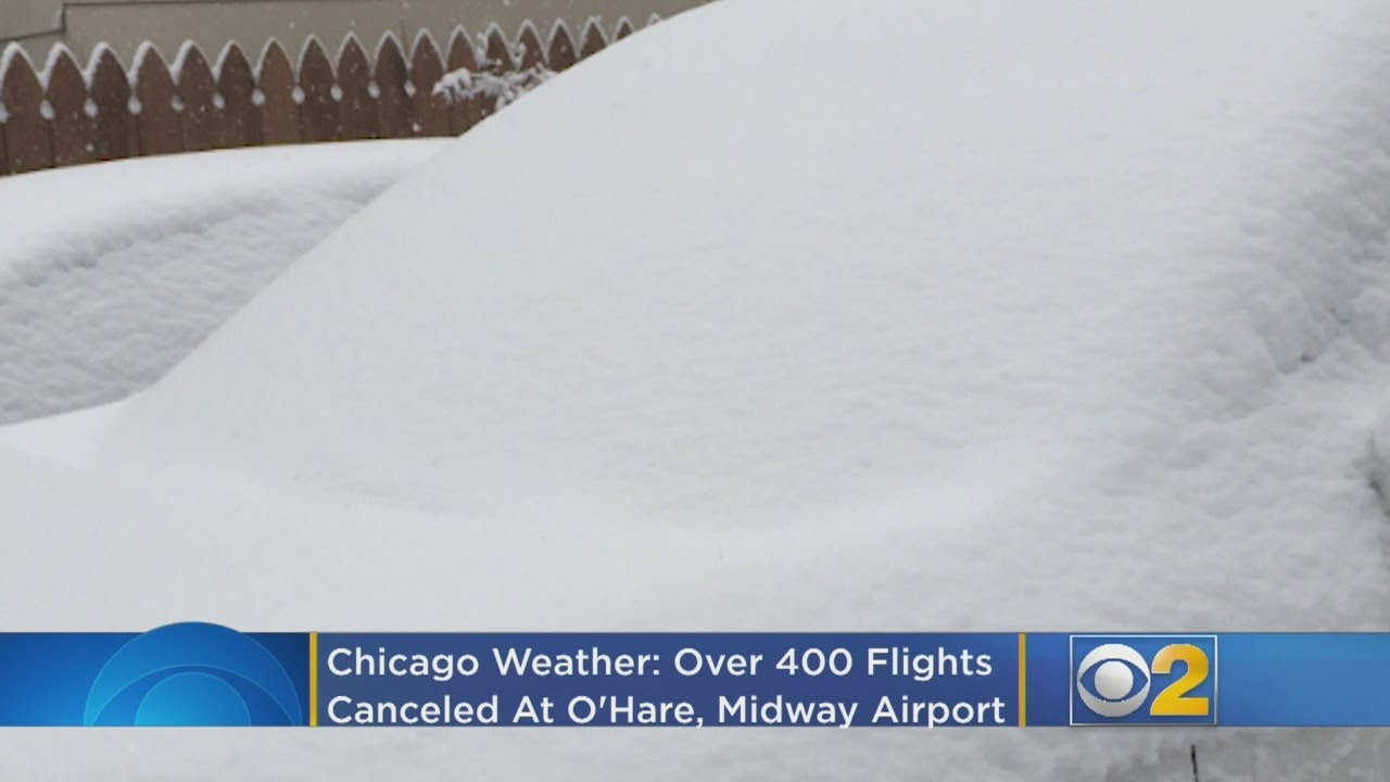 Chicago Weather: Over 200 Flights Canceled At O'Hare, Midway ...