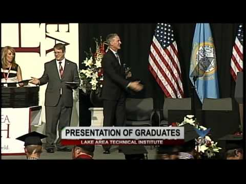 Lake Area Technical Institute 2015 Commencement with President Barack Obama
