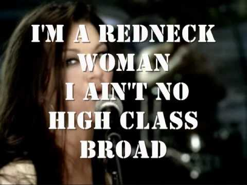 Redneck Woman by Gretchen Wilson (lyrics)