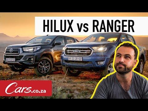 Toyota Hilux vs Ford Ranger (2019) Comparative Test - Cars co za