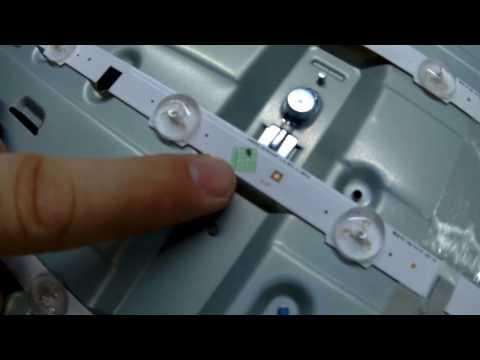 Conserto de TV Samsung LED - 46unf550 (Liga sem imagem)
