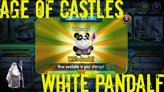 Monster Legends - Age of Castles - White Pandalf