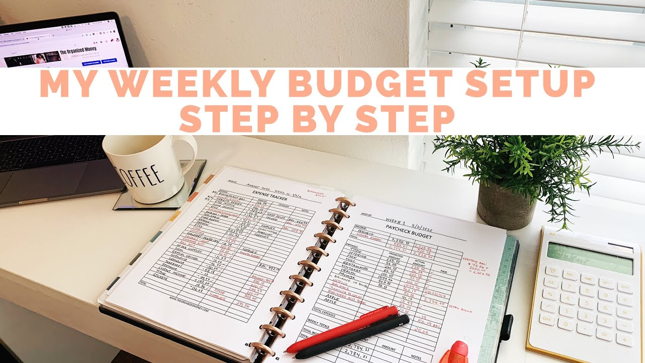 My Weekly Budget Setup (Step By Step)