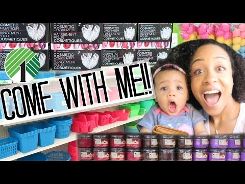 $1 Dollar Tree Shopping Vlog! Organization Products! Makeup Organizers, Containers + More!