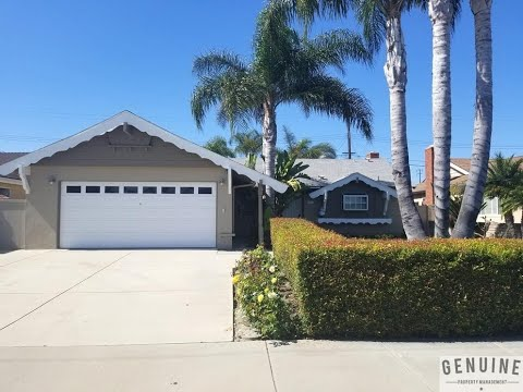 Huntington Beach Homes For Rent 4BR/2BA By Huntington Beach Property Management