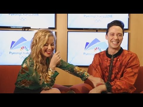 Why Tara Lipinski and Johnny Weir are so excited for the 2018 Olympics