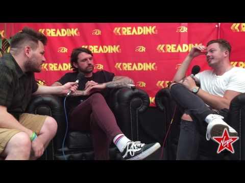 Lower Than Atlantis Chat To Jon Jackson At Reading Festival