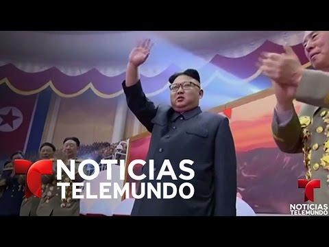 Corea del Norte muestra en TV como sería su ataque nuclear a EEUU | Noticias | Noticias Telemundo