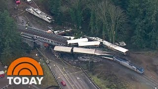 Deadly Amtrak Derailment: Train Was Going 80 In A 30 MPH Zone | TODAY