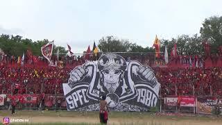 FULL KOREO SPARTACKS SEMIFINAL LIGA 2 SEMEN PADANG FC VS PERSITA
