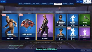 🔴 *NEW* BIGFOOT Skin, Savor The W Emote! June 29th Fortnite Daily Item Shop 🌴 🌊