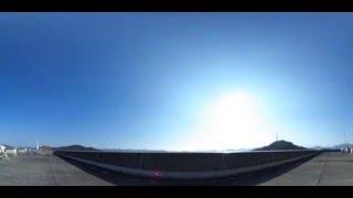 Thetaで撮ったタイムラプス動画をトリミング 360°版→https://www.youtub...